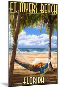 Ft. Myers Beach, Florida - Hammock by Lantern Press
