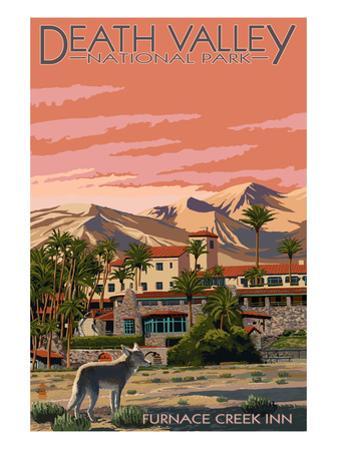 Furnace Creek Inn - Death Valley National Park by Lantern Press