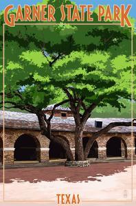 Garner State Park, Texas - Casa Grande by Lantern Press
