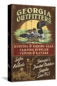 Georgia - Loon Outfitters by Lantern Press