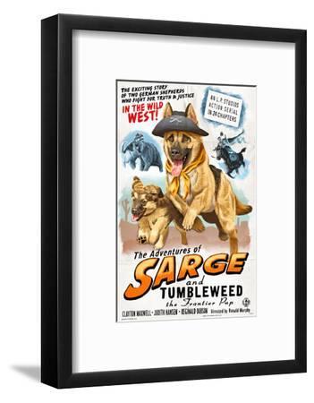 German Shepherd - Adventures of Sarge and Tumbleweed