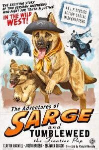 German Shepherd - Adventures of Sarge and Tumbleweed by Lantern Press