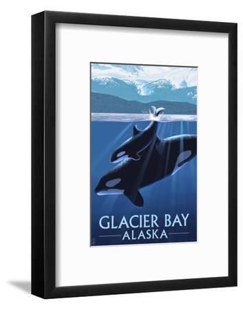 Glacier Bay, Alaska - Orca and Calf