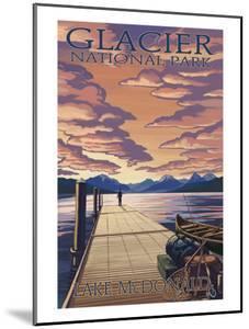Glacier National Park - Lake Mcdonald, c.2009 by Lantern Press