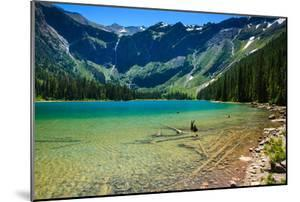 Glacier National Park, Montana - Avalanche Lake by Lantern Press