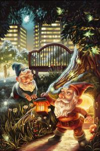 Gnomes in the City by Lantern Press