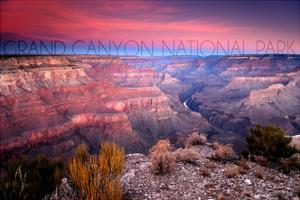 Grand Canyon National Park, Arizona - Ridge Line by Lantern Press