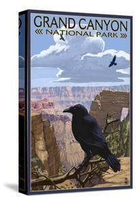 Grand Canyon National Park - Ravens and Angels Window by Lantern Press