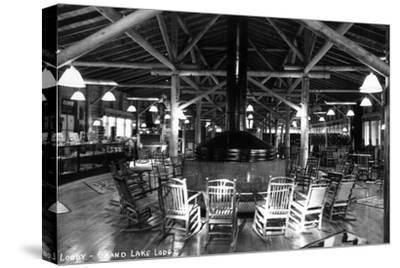 Grand Lake, Colorado - Interior Lobby of Grand Lake Lodge