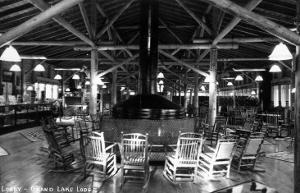 Grand Lake, Colorado - Interior Lobby of Grand Lake Lodge by Lantern Press