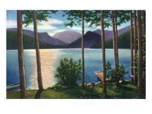 Grand Lake, Colorado - Sunrise Scene on the Lake by Lantern Press