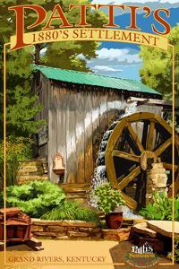 Grand Rivers, Kentucky - Patti's Settlement by Lantern Press