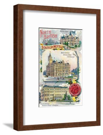 Great Britian - North British Railway Company Station Hotels in Perth, Edinburgh, and Glasgow