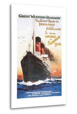 Great Western Railway - Steamship - Vintage Poster