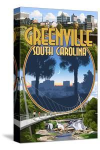 Greenville, South Carolina - Montage by Lantern Press