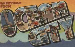 Greetings from Ocean City by Lantern Press