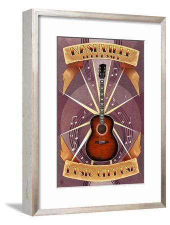 Guitar Banner - Nashville, Tennessee