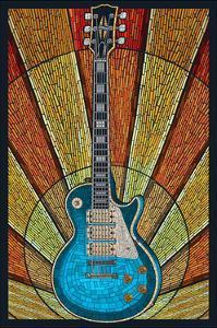 Guitar - Mosaic by Lantern Press