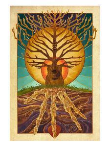 Guitar Tree by Lantern Press