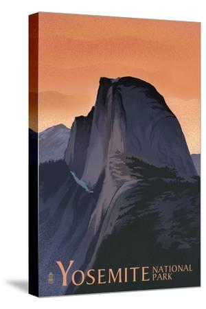 Travel Yosemite National Park California 12X16 Inch Framed Art Print