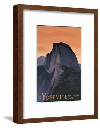 Half Dome - Yosemite National Park, California Lithography