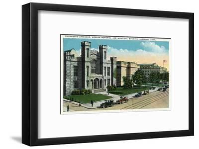 Hartford, Connecticut - Wadsworth Atheneum, Morgan Memorial, Municipal Bldg Exterior