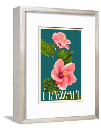 Hawaii - Pink Hibiscus Flower