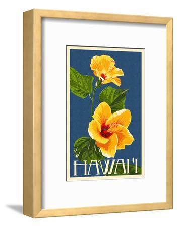 Hawaii - Yellow Hibiscus Flower