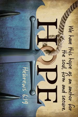 Hebrews 6:19 - Inspirational by Lantern Press