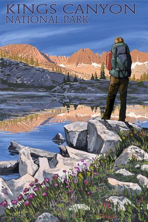 Beautiful Sequoia Kings Canyon National Parks Posters Artwork For And Prints Art