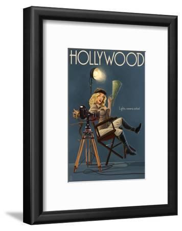 Hollywood, California - Directing Pinup Girl