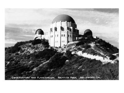 Hollywood, California - Griffith Park Observatory and Planetarium