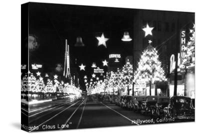 Hollywood, California - Santa Claus Lane Parade on Hollywood Blvd
