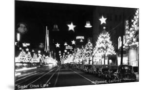 Hollywood, California - Santa Claus Lane Parade on Hollywood Blvd by Lantern Press