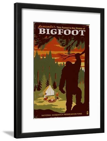 Home of Bigfoot - WPA Style