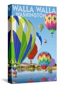 Hot Air Balloons - Walla Walla, Washington by Lantern Press