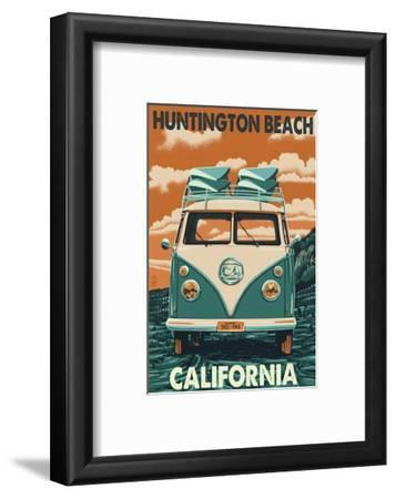 Huntington Beach, California - VW Van
