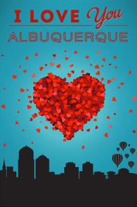 I Love You Albuquerque, New Mexico by Lantern Press