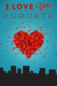 I Love You Augusta, Georgia by Lantern Press