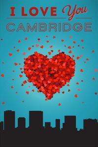 I Love You Cambridge, Massachusetts by Lantern Press