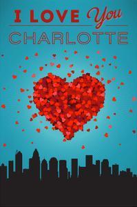 I Love You Charlotte, North Carolina by Lantern Press