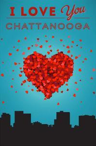 I Love You Chattanooga, Tennessee by Lantern Press