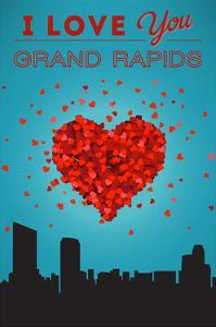 I Love You Grand Rapids, Michigan by Lantern Press