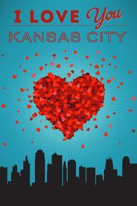 I Love You Kansas City, Missouri by Lantern Press