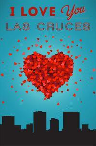I Love You Las Cruces, New Mexico by Lantern Press