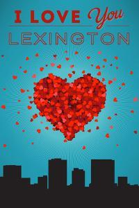 I Love You Lexington, Kentucky by Lantern Press