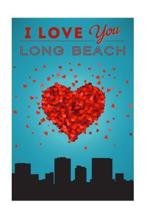I Love You Long Beach, California