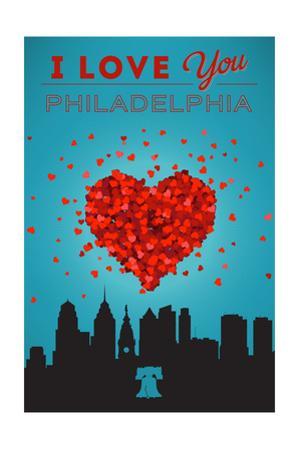 I Love You Philadelphia by Lantern Press