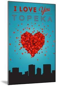 I Love You Topeka, Kansas by Lantern Press