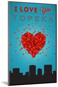 I Love You Topeka, Kansas by Lantern Press